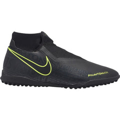 Men's Nike Phantom VSN Academy DF Turf Black/Volt