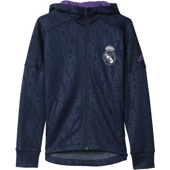 Adidas YB Real Madrid FZ Hodie Navy/Purple