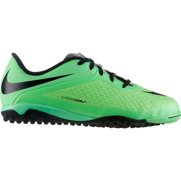 Nike Jr Hypervenom Phelon TF Lime/Black