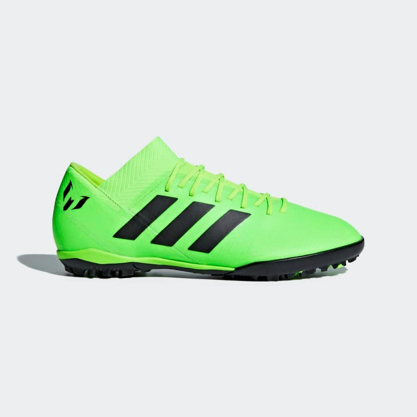 Adidas Mens Nemeziz Messi Tango 18.3 TF Green