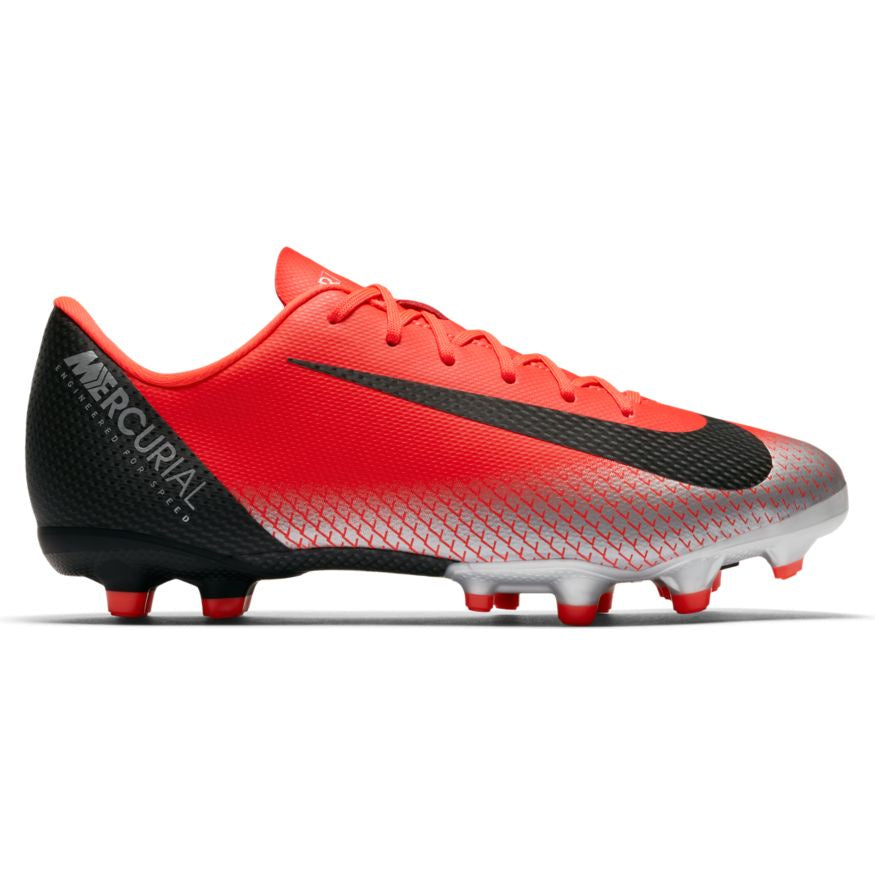 Nike Jr Vapor 12 Academy GS CR7 FG/MG Bright-Crimson