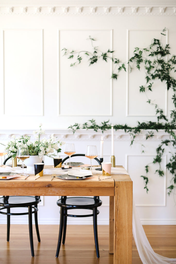 How To Host A Dreamy Bridal Shower Part 1: DIY Foliage Floral Arch