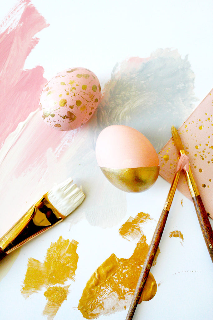 Goddess-Inspired Modern Easter Eggs