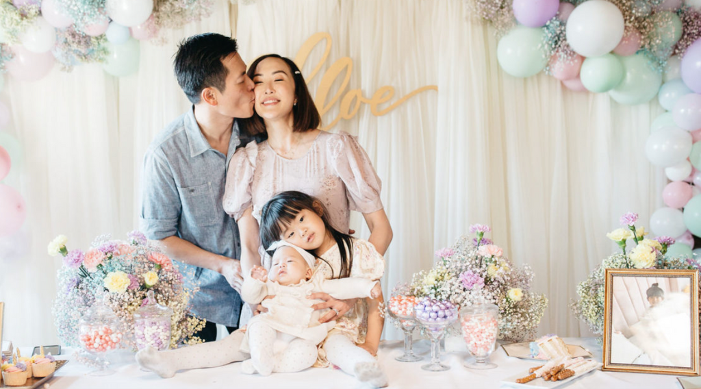 A Fourth Birthday Celebration and 100 Day Party with Chriselle Lim