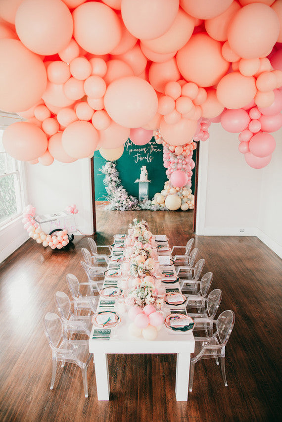 Jewel-inspired 2nd birthday party filled with balloons