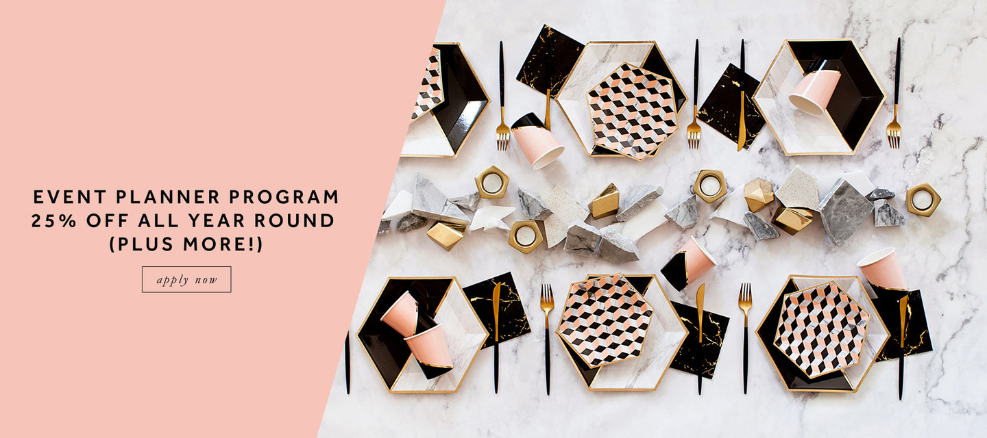 Harlow & Grey: Modern Party Supplies