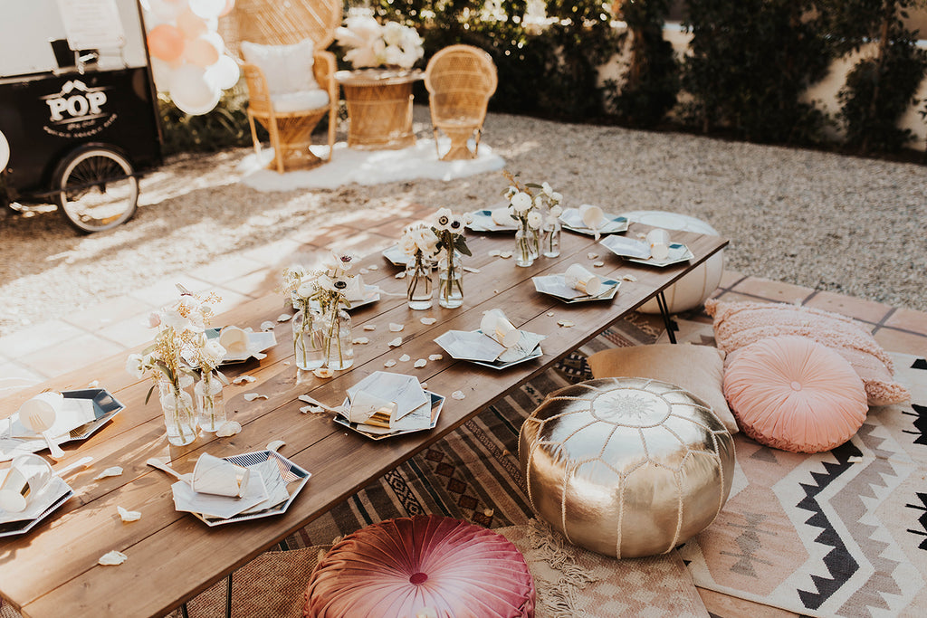 Thrifted Sister Vintage Creates A Perfect Backyard Oasis