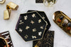 Cynthia Rowley Zodiac - Black Little Stars Cocktail Napkins