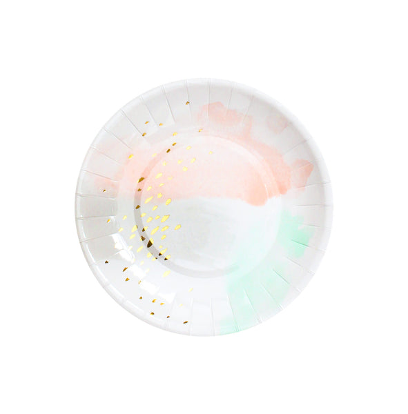 Daydream - Watercolor Small Party Plates