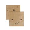 Modern Camp - Bear Face Party Napkins