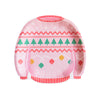 Ugly Holiday Sweater - Pink Sweater Medium Plates