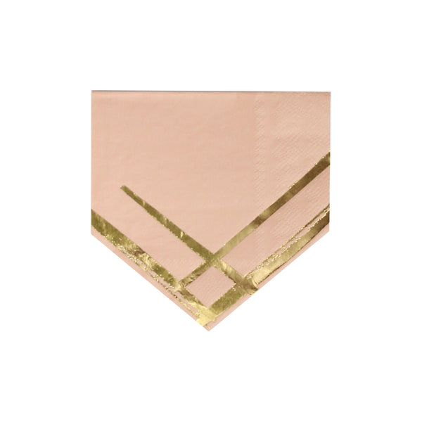 Wander - Blush Boho Cocktail Napkins
