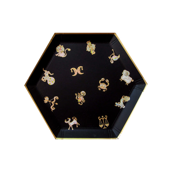Cynthia Rowley Zodiac - Black What's Your Sign Small Plates
