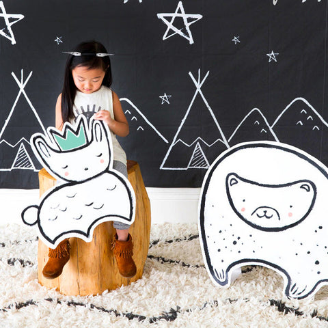 Modern Camp - Woodland Animal Photo Props