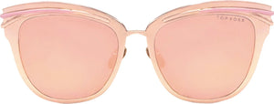 Topfoxx Women's Sunglasses New York Top Trending Candy Rose Gold