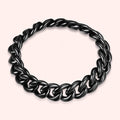 Topfoxx Jewelry Sterling Silver Ring Chain 90's Baby Black