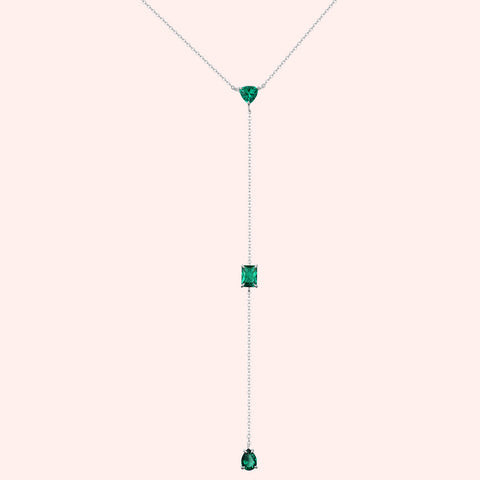 Elixir Necklace - Emerald