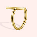 Charisma Lip Ring - Rose Gold