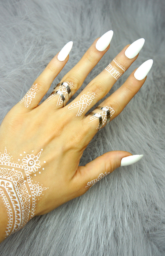 """ Vivian"" V-Shaped Silver - Ring - TopFoxx"