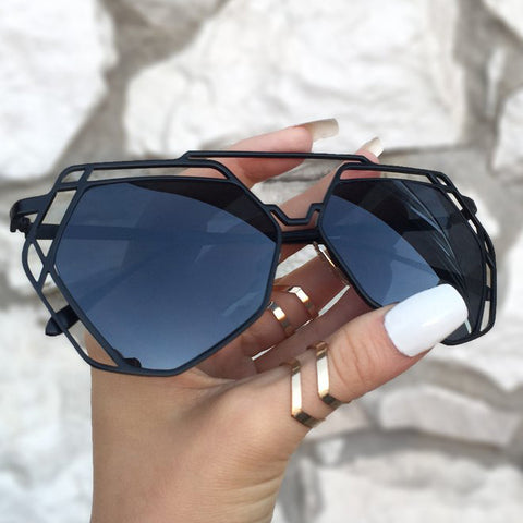 Arrest Me Sunnies - Black - TopFoxx