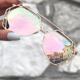 Arrest Me Sunnies - Rose Gold - TopFoxx