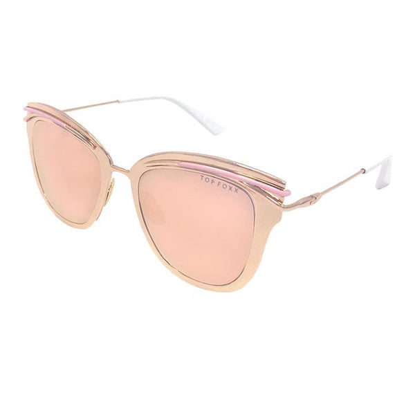 Topfoxx Sunglasses Candy Rose Gold