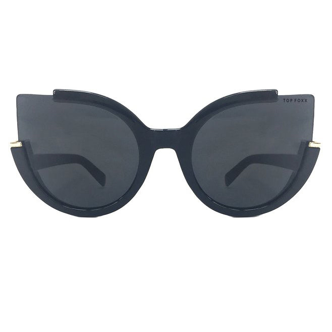 Topfoxx Sunglasses Chloe Cat Eye Black