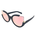 Topfoxx Sunglasses Chloe Cat Eye Rose Gold