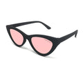 Topfoxx Sunglasses Matrix Cat Eye Black Frame Polarized Rose Gold Lens