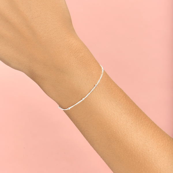 Topfoxx Jewelry Sterling Silver Bracelet Caress Silver Chain