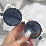 Pussycat Cateye Sunnies - Black - TopFoxx