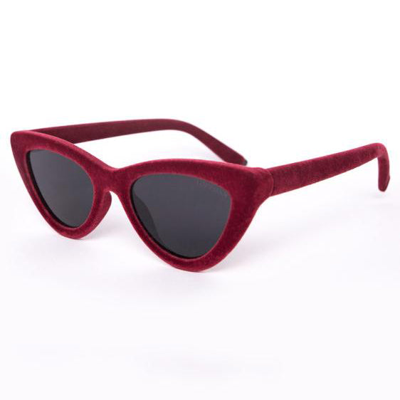 Matrix sunnies - Red Velvet/Black