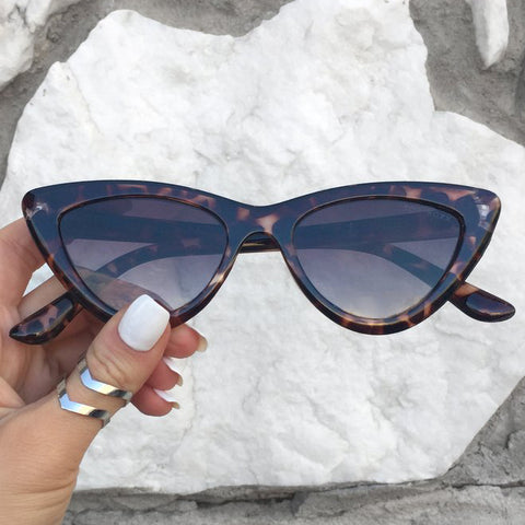 Matrix sunnies - Tortoise/fadded brown - TopFoxx