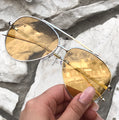 Topfoxx Sunglasses Amelia Aviators Golden Yellow