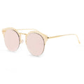 Topfoxx Sunglasses Angel Round Lens Rose Gold