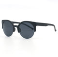 Topfoxx Sunglasses Retro Round Black
