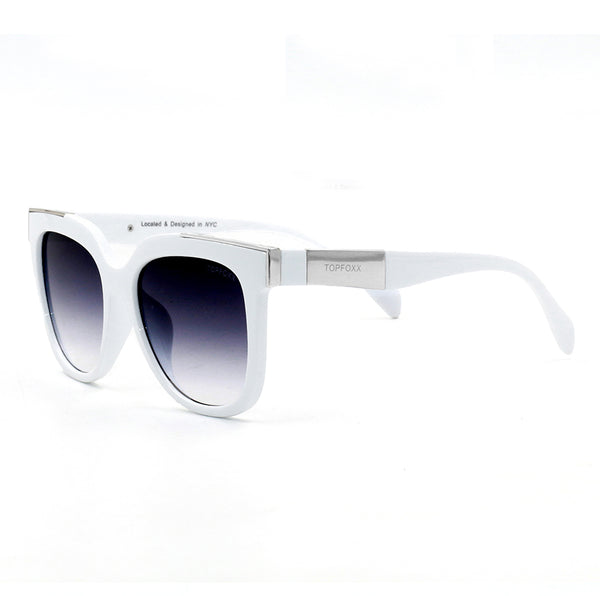 Spring Summer 2020 Fashion Trend Sunglasses - Coco White