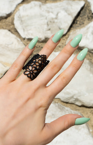 Jewelry - Dark Garden Of Eden - Black - Ring