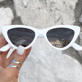 Matrix sunnies - White/Smoke Black - TopFoxx
