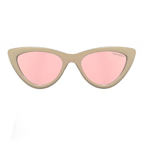 Matrix Sunnies - Tan/ Polarized Peach Mirror