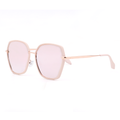 Topfoxx Trending Woman's Sunglasses New York Maya Rose Gold Polarized Mirrored Sunnies