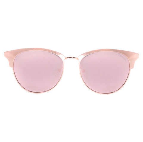 Marilyn - Polarized Rose Gold Mirrored Sunnies