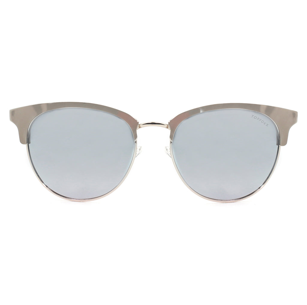 Marilyn - Polarized Silver Mirrored Sunnies