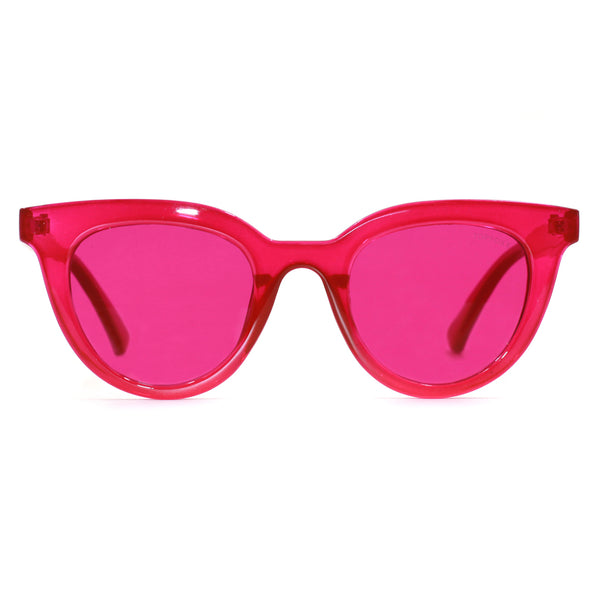 Topfoxx Sunglasses Brittany Hot Pink Flamingo Crystal Frame