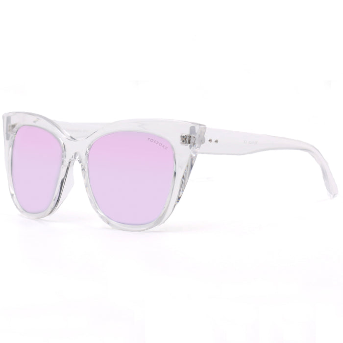 Venice Cateye - Clear/Purple