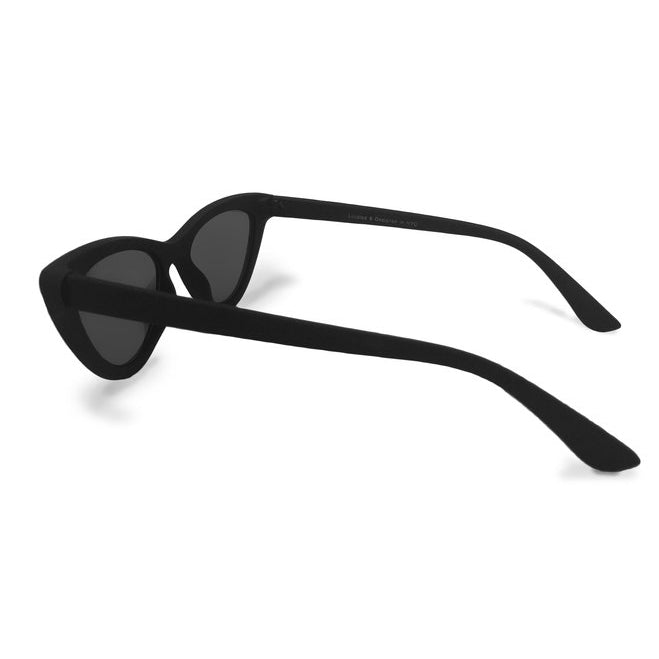 Matrix sunnies - Matte Black/ Polarized Rosegold