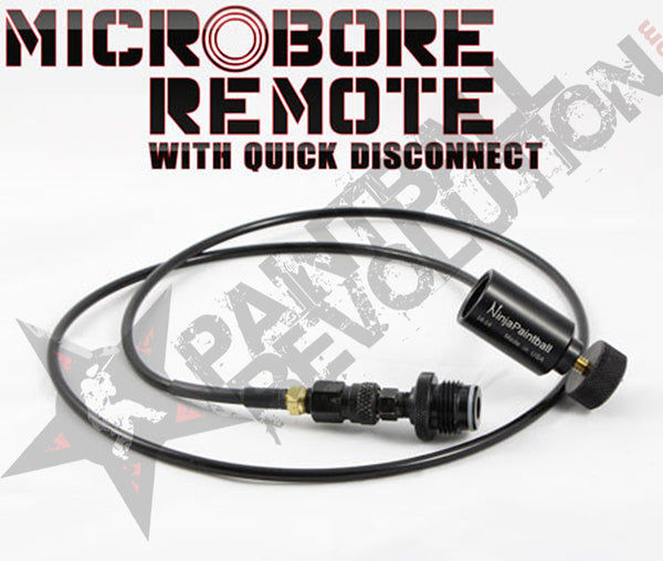 Ninja Microbore Straight Remote with Quick Disconnect