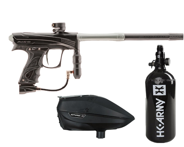 Dye Rize CZR Paintball Marker Gun Black Grey Package Black IR
