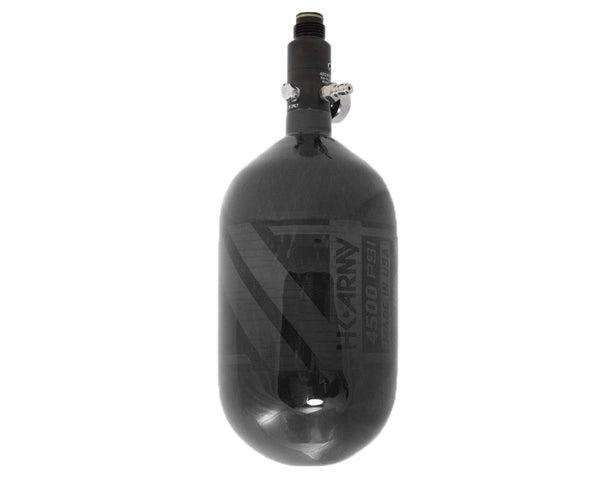 HK Army Aerolite 68/4500 Carbon Fiber Paintball HPA Air Tank Smoke