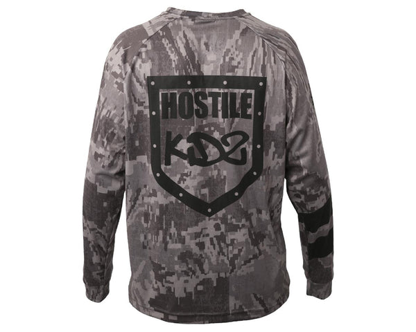 HK Army Hostile DryFit Long Sleeve Camo S
